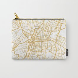 MEXICO CITY MEXICO CITY STREET MAP ART Carry-All Pouch