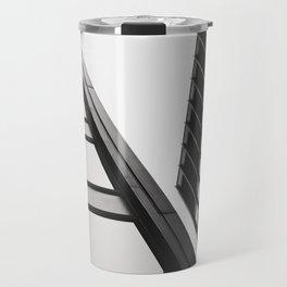 Architecture black and white Travel Mug