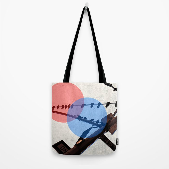 dimensions tote bag by randolph society6. Black Bedroom Furniture Sets. Home Design Ideas