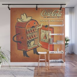 Cocaine Cola Wall Mural