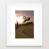 jay fleck Framed Art Prints featuring Jay by Mike Shaheen