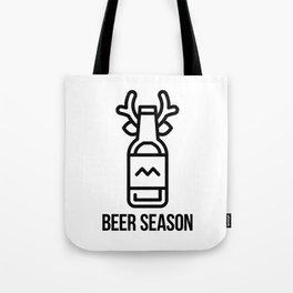 Beer Season Tote Bag