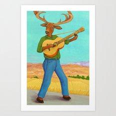 The Balladeer Art Print