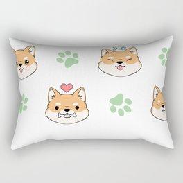 Chibi shiba's Rectangular Pillow
