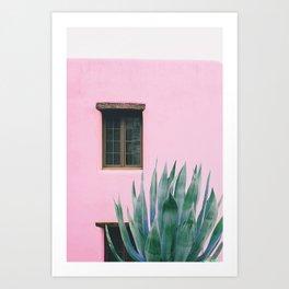 Pink Marfa Wall Art Print