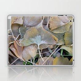 Ginko Leaves in Fall Laptop & iPad Skin
