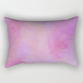 Pink Fog Rectangular Pillow