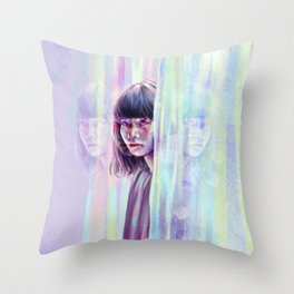 Reflections to Crumble. Throw Pillow