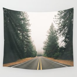 Follow the Road Wall Tapestry