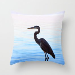 St. Pete Nights Throw Pillow