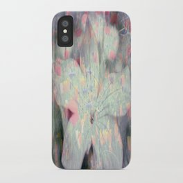 Flowers and Fields iPhone Case