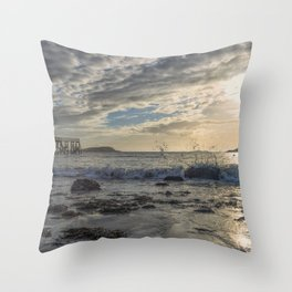 Magnolia Pier Throw Pillow