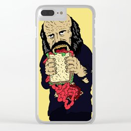 Antropophagus Clear iPhone Case