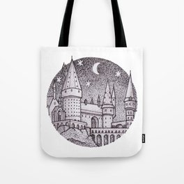 School of Witchcraft and Wizardry Tote Bag