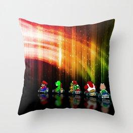 Super Mario Kart - Pixel art Throw Pillow