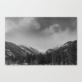 Rocky Mountains National Park Canvas Print