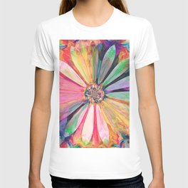 Abstract Colorful Daisy 3 T-shirt