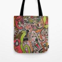 miles davis Tote Bags featuring miles davies by Dan Feit
