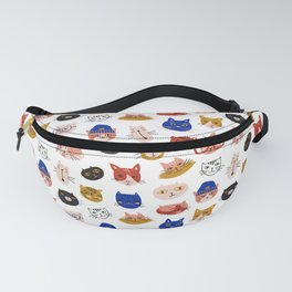 Fashionable cats Fanny Pack