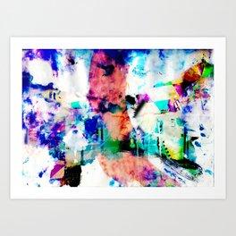 The manifest world v 1 Art Print