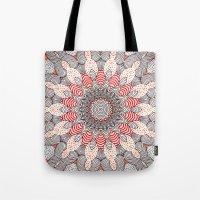 mandala Tote Bags featuring manDala by Monika Strigel