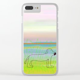 allie's dog Clear iPhone Case