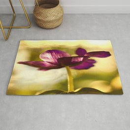 Glowing Purple Flower #decor #society6 #buyart Rug