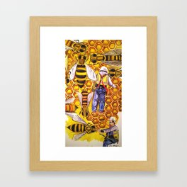 Working Class Framed Art Print