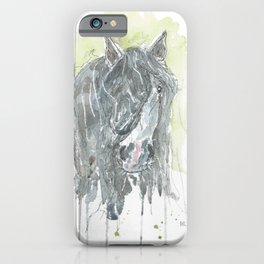 Dark horse. iPhone Case