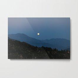 Rising of the Full Moon II (California) Metal Print
