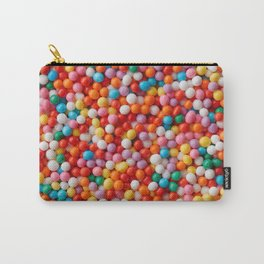 Multicolored candy drops Carry-All Pouch