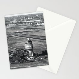 1st Route Air Traffic Control Tower in The US Stationery Cards