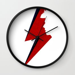 David Thunder Silhouette Wall Clock