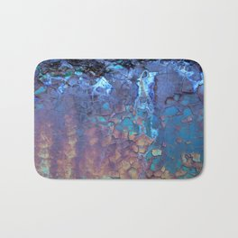 Waterfall. Rustic & crumby paint. Bath Mat