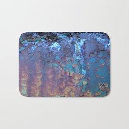 Waterfall. Rustic & crumby paint. Bath Mat