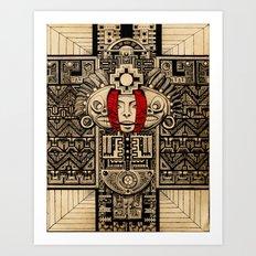 Espero que encuentre la paz Art Print