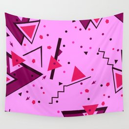 Pink Error Wall Tapestry