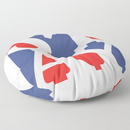Patriotic Stay Floor Pillow