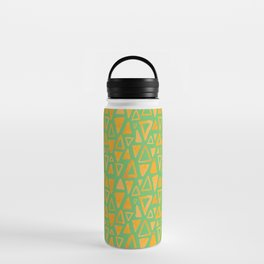 Triangles Pattern Water Bottle