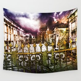 New Orleans cemetery Wall Tapestry