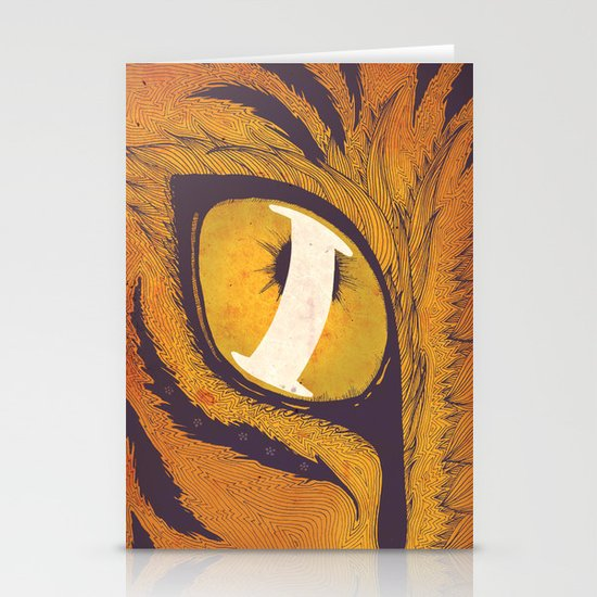 """""""I"""" of the Tiger Stationery Cards"""