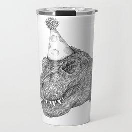 Party Dinosaur Travel Mug