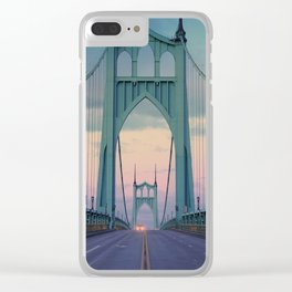 St John's Epiphany Clear iPhone Case