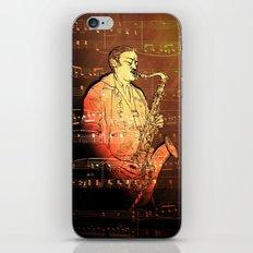 Pure Sax iPhone & iPod Skin