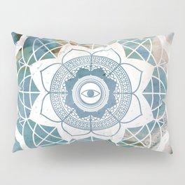 Nature Atmospheric Mandala Pillow Sham