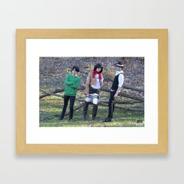 20151122 Trio Framed Art Print