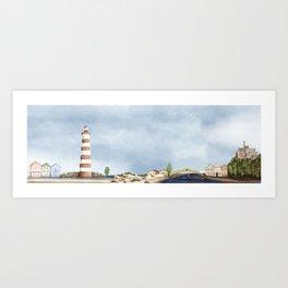 Aveiro landscape Art Print