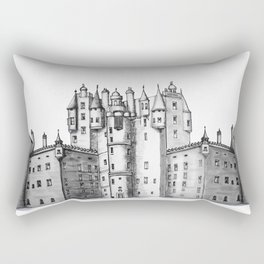huge castle Rectangular Pillow