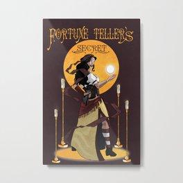Fortune Teller's Secret Metal Print