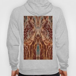Abstract Textural Graphic-2 Hoody